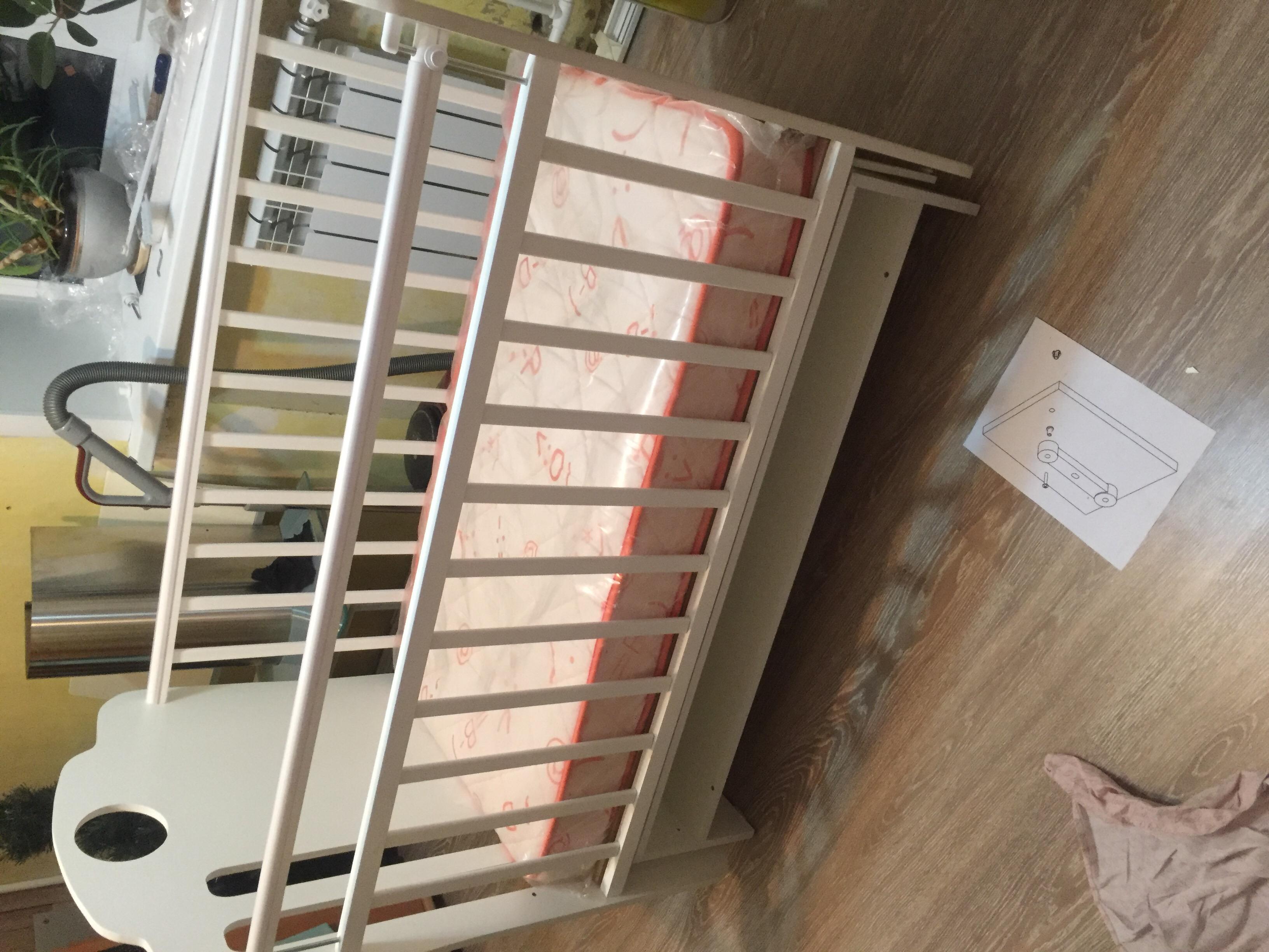 детская кроватка скв 5 инструкция по сборке