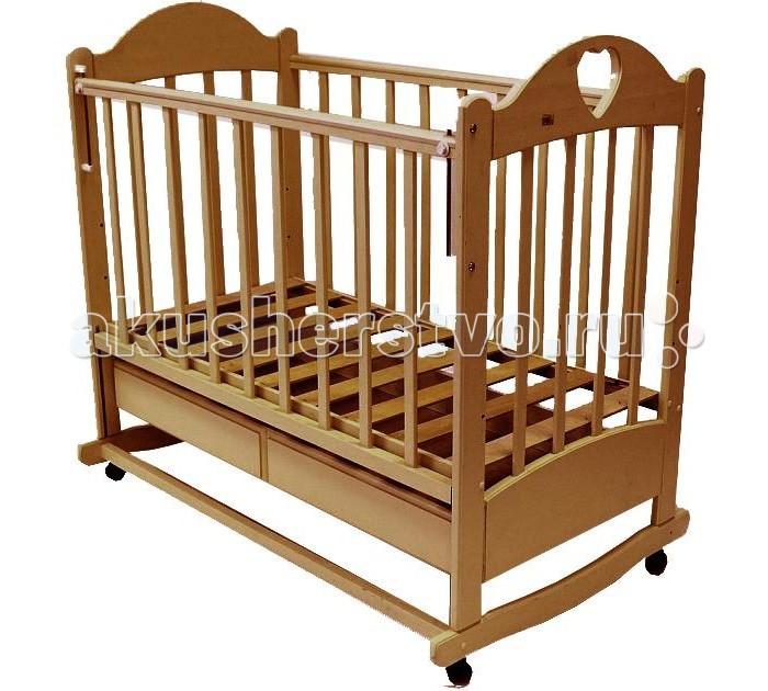 Детские кроватки Ведрусс Таисия №2 качалка ведрусс лана 2 ящик колеса качалка сердечко вишня