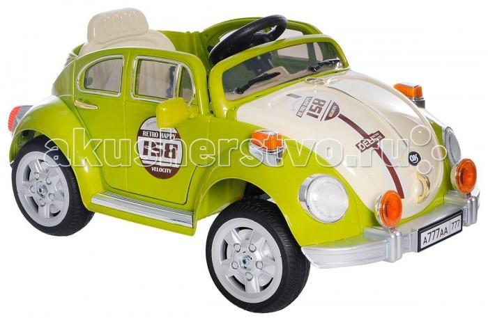 Электромобиль 1 Toy ЖукЖукЭлектромобиль 1 Toy Жук на радиоуправлении позволит любому ребенку почувствовать себя водителем шикарной машины. Благодаря своему стильному и притягательному дизайну, автомобиль сможет сразу же надолго завладеть вниманием ребенка. Яркая и разнообразная расцветка автомобиля также не останется незамеченной.   Сев в такую машину, ребенок сможет самостоятельно ею управлять, однако родители смогут контролировать данный процесс с помощью простого в применении пульта управления. Сидеть юный водитель будет в удобном сиденье. Также данное сиденье оснащено специальными ремнями безопасности, поэтому родителям не стоит переживать за ребенка.  Автомобиль оснащен световыми и звуковыми эффектами, с которыми игровой процесс будет очень увлекательным и реалистичным. Также машина обладает отличной детализацией. Все вышеперечисленные факторы позволят ребенку почувствовать себя водителем настоящей машины.  Особенности: комплект: электромобиль, пульт управления, зарядное устройство  допустимый вес эксплуатации: до 30 кг  время игры: 1 - 1.5 ч  дальность действия: 30 м  состав: пластик, резину, текстиль, металл  размер упаковки: 111.5 х 64 х 42.5 см  упаковка: картонная коробка  размер электромобиля: 115 х 63 х 53 см  максимальная скорость: 3-6 км/ч  количество скоростей: 2  питание электромобиля: аккумулятор  тип аккумулятора: 2 х 6 V / 7 Ач  мощность мотора: 2 х 35 Вт  вес: 17.5 кг.<br>