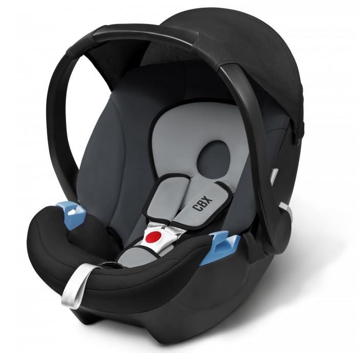 """Автокресло Cybex CBX Aton BasicCBX Aton BasicАвтокресло Cybex CBX Aton Basic предназначено для перевозки малышей с рождения до 13 кг (примерно до 1,5 лет). Для новорожденных предусмотрен вкладыш, который по мере роста вынимается.  Характеристики детского автокресла Cybex Aton Basic:  3-х точечные внутренние ремни безопасности с мягкими накладками надёжно удержат малыша в автокресле  Мягкий материал отделки будет особенно приятен малышу.  Регулируемая в нескольких положениях ручка может служить дополнительным упором при установке в автомобиль. Солнцезащитный капюшон регулируется вместе с рукояткой  Высокие показатели безопасности в независимых краш-тестах. Автокресло Cybex Aton Basic соответствует самым последним нормам по безопасности для детских автомобильных кресел ECE R44/04  Данное кресло можно установить на коляски фирмы Cybex при помощи специального адаптера (приобретается отдельно)  В машине кресло устанавливается только спиной по ходу движения. Крепление кресла происходит 3-х точечными штатными ремнями безопасности  Изогнутое дно позволит использовать автокресло в качестве качалки  Съемный чехол можно стирать при температуре 30 градусов  Особенности:  Съемный чехол, стирающийся при 30 градусах  Соответствие стандартам ECE 44/04  Тип внутренних ремней - трехточечные внутренние ремни  Мягкие накладки на внутренние ремни - есть  Поддержка головы новорожденного - есть  Использование в качестве качалки - есть  Использование в качестве переноски - есть  Ручки для переноски - есть  Регулировка высоты внутренних ремней - есть  Тент от солнца - есть  Съемный чехол - есть  Вес 2.9 кг  Размеры(ДхШхВ) - 63х47х56 см  Вес кресла всего 2,9 кг - одно из самых лёгких в своей группе!  Награды:  победитель конкурса университета Stiftung Warentest - Группа 0+ без базы (06/2009)  немецкий автомобильный клуб ADAC - хорошо  австрийский автомобильный клуб &#214;AMTC - хорошо  оценка TCS - достойный рекомендации  Autobild.de - очень хорошо""""<br>"""
