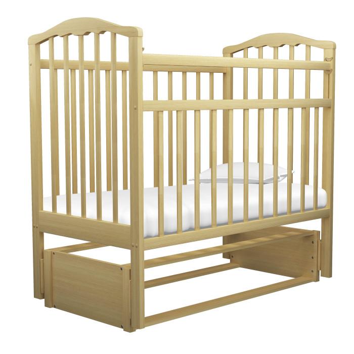Детская кроватка Агат Золушка-5 маятник продольныйЗолушка-5 маятник продольныйДетская кроватка Агат Золушка-5 маятник продольный имеет Европейский дизайн.   2 положения днища.   Боковая автостенка.  Впоследствии боковую стенку можно снять совсем, таким образом кроватка превратится в очень уютный диванчик.  Маятник продольного качания, что особо актуально в первые месяцы жизни крохи.  Детская кроватка имеет Европейский дизайн, изготовлена полностью из массива березы, покрыта абсолютно нетоксичными и безвредными для здоровья детей лаками, а также имеет очень нарядную форму спинок.  Внешние размеры: 127x67 см<br>