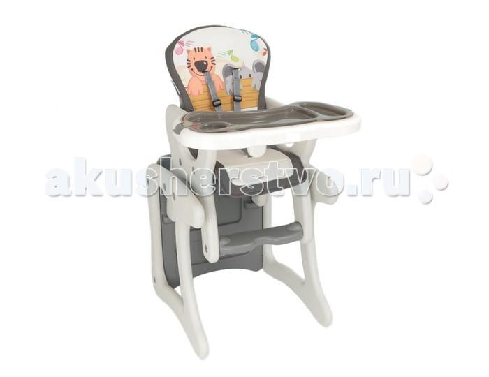 Стульчик для кормления Alis FantasyFantasyСтульчик для кормления Alis Fantasy   Удобный и комфортный детский стульчик-трансформер для кормления Вашего малыша. В начале используется как высокий стульчик, а когда малыш подрастет, трансформируется в удобный стол и стул.   Для Вашего удобства, стульчик имеет мягкую съемную ткань сиденья, которую можно мыть. Трансформируется в стол со стулом.   5-точечные ремни безопасности и анатомическая вставка для разделения ног удерживают ребенка в надежном и безопасном положении. Регулируемое положение спинки. Обеденный поднос можно легко снять и помыть. Мягкую обивку можно снимать и мыть. Устойчив к ударам и падениям. Не имеет острых углов.   Возраст от 6 месяцев до 6-ти лет. Стульчик выполнен из полностью безопасных материалов, соответствует строгим европейским стандартам качества для детских товаров.  Особенности: Стульчик для кормления подходит для малышей от 6 месяцев до 6-7 лет; каркас стульчика выполнен из высококачественного и прочного пластика; мягкий чехол изготовлен из гипоаллергенной, нетоксичной и дышащей ткани; при необходимости чехол можно снять и стирать на деликатном режиме; наклон спинки регулируется в 3 положениях с помощью специальной удобной ручки; положение столика регулируется в 3-х положениях; стульчик можно полностью отрегулировать под конституцию малыша; трансформируется в парту и стул; 5-ти точечные ремни безопасности не дадут малышу упасть со стульчика; устойчивая и надежная конструкция; максимальная нагрузка: 15 кг<br>