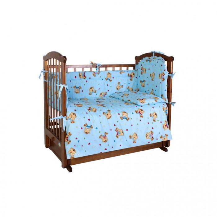 Комплект в кроватку Ангелочки 5600 (6 предметов)
