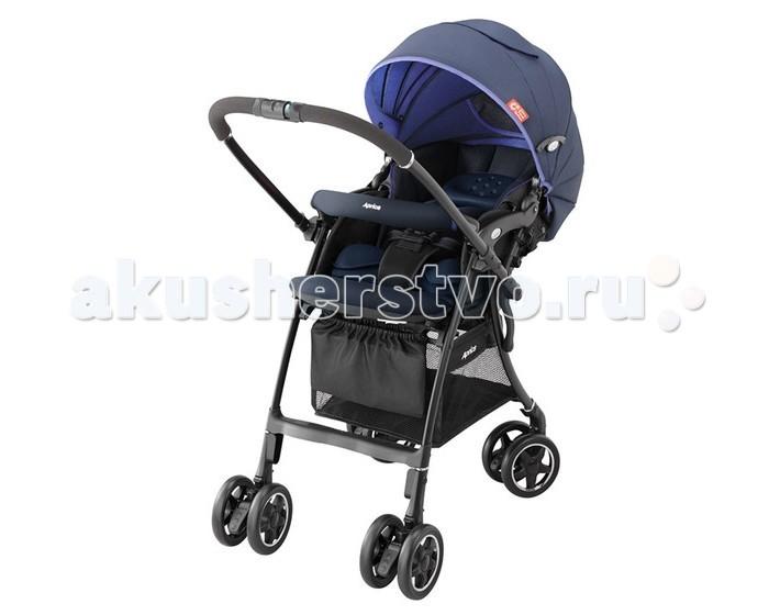 Прогулочная коляска Aprica Luxuna CTSLuxuna CTSПрогулочная коляска Aprica Luxuna CTS - очень лёгкая, маневренная, надёжная, обеспечивает максимальное удобство и комфорт для мамы и малыша во время прогулок.  Впервые в коляске Luxuna CTS используется уникальный запатентованный материал Silkyair, который легко снимается, стирается и быстро сохнет (новое поколение Breathair, но с меньшим весом), обладает исключительной способностью поглощения вибрации и паропроницаемостью. С таким матрасиком Вы легко можете поддерживать чистоту в коляске Вашего малыша.  На обратной стороне спинки коляски имеется специальный отражатель, оберегающий от солнечных и тепловых излучений дорожного покрытия, предотвращая перегрев малыша. Такая система терморегуляции позволяет поддерживать оптимальную температуру тела ребенка при любой погоде.  Коляску можно укомплектовать переноской-кенгуру Colan CTS (продается отдельно), которая будет использоваться в качестве дополнительного матрасика-вкладыша. А когда ребенка нужно будет взять на руки, то очень легко просто накинуть лямки переноски себе на плечи, выпрямиться вместе с ребенком, закрепить на себе поясной ремень, сложить коляску одной рукой и продолжить путь.Когда ребенок лежит в коляске с переноской, то ее ремни и лямки легко прячутся под сиденьем в специальном кармашке.  Так же среди отличительных особенностей от более ранних моделей можно выделить особую форму съемного матрасика-вкладыша, благодаря которой коляску можно использовать с удобством как с анатомическими вкладышами для новорожденных, так и с переноской-кенгуру.  Особенности: Невероятно легкая и компактная, вес коляски всего 5.3 кг Высокое сиденье 53 см от земли Коляска складывается одной рукой, стоит в сложенном виде, очень компактна в сложенном виде. Перекидная ручка с функцией автоматического освобождения передних колес Мягкое зефирное сидение с системой анти-шок - защита от тряски при езде. Большой капюшон с вентилируемыми вставками, можно трансформировать в тент от солнца. Кап