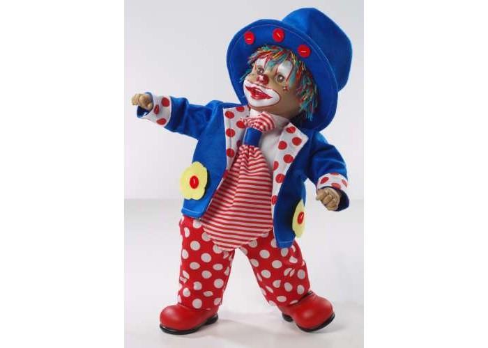 Arias Клоун 50 смКлоун 50 смArias Клоун 50 см  Клоун от бренда Arias, который всем своим внешним видом демонстрирует радость, веселье и легкое безумие, в хорошем смысле этого слова.   Весь образ куклы изобилует яркими цветами, которые непременно привлекут к себе внимание, 50 см.<br>