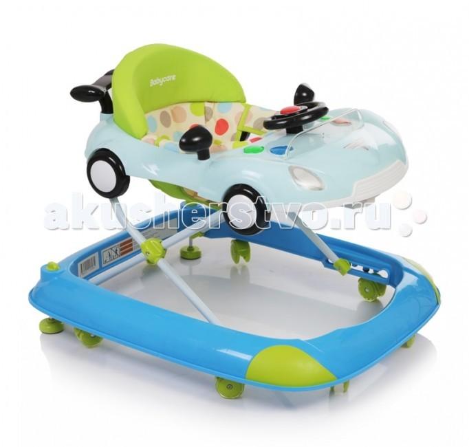 Ходунки Baby Care StratusStratusХодунки Baby Care Stratus  Особенности: 8 силиконовых колёс 2 стоппера Мягкое сиденье Музыкально-игровая панель со световыми эффектами 3 положения по высота Полностью съемная обивка (для удобства стирки) Рекомендовано для детей от 6 месяцев до 12кг. Размер ходунка в разложенном состоянии: 62х69х53 см Размер ходунка в сложенном состоянии: 62х15х71 см<br>