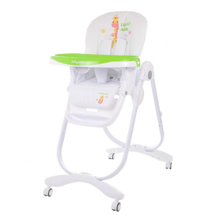 Стульчик для кормления Baby Care TronaTronaСтульчик для кормления Baby Care Trona - глубокая тарелка для малышей, которые только учатся есть самостоятельно. Ведь у каждого должна быть своя личная любимая посуда, чтобы всё как у взрослых.  Особенности: 7 уровней высоты кресла 3 положения наклона спинки регулируемая подножка 5-ти точечные ремни безопасности и ограничитель 3 положения глубины столешницы съемная дополнительная прозрачная столешница сетка для игрушек стульчик легко складывается и устойчив в сложенном виде Возраст ребенка:от 6 мес. Вес изделия:9.6 кг Размеры в разложенном виде: 60х58х110 см Размеры в сложенном виде: 58х32х100 см<br>