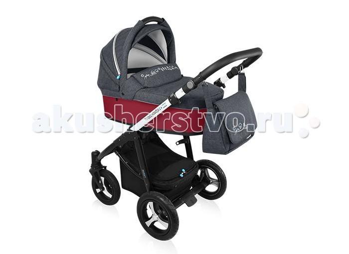 Коляска Baby Design Husky WP New 2 в 1Husky WP New 2 в 1Коляска 2 в 1 Baby Design Husky WP New - превосходный выбор родителей, которые думают не только о стиле, но и комфорте и безопасности для своего малыша.   Коляска совмещает в себя как люльку для новорожденного, так и прогулочный блок, что относит ее к универсальным коляскам , которые можно использовать с первых дней рождения ребенка и в возрасте, когда он уверенно сидит и познает мир. В вариации Husky расширена комплектация, ткань сделана по лён. Плавность хода коляски обеспечивают большие надувные колеса, а также система амортизации.   При помощи нажатия всего двух кнопок вы сможете без труда сложить раму. Установка модулей, а именно люльки и прогулочного блока на шасси также очень удобно в использовании - одной рукой вы держите люльку за ручку-переноску на капюшоне, а другой рукой просто нажимаете на кнопку на дне люльки. Также коляска имеет большой выбор пастельных тонов, которые приятны и не раздражют глаз. Коляска с установленной люлькой имеет совсем небольшой вес - 14 кг.   Особенности: Люлька  Просторная утепленная и в тоже время вентилируемая Удобная регулировка  уровня наклона спинки Легкая система установки на раму Теплые ткани, хорошо подходят для зимы и защищают от ветра, дождя и снега Уникальная расцветка и дизайн Имеет дополнительный козырек и удобную ручку для переноски Прогулочный блок: Черно-белая легкая конструкция (рама) Теплые ткани, хорошо подходят для зимы и защищают от ветра, дождя и снега Уникальная расцветка и дизайн Ручка удобная, мягкая, выполнена из экокожи Большая, вместительная корзина, застегивается на замок молнию Дополнительно увеличиваемый капюшон Все колеса накачиваемые, имеют мягкую амортизацию, 10 подшипников качения– по два подшипника на каждое колесо, два – в передних ступицах Удобный центральный тормоз Коляска Baby Design Husky WP 2 в 1 компактна в сложенном виде Сиденье прогулочного блока коляски может быть установлено по ходу движения и «лицом к маме» В лежачем положени