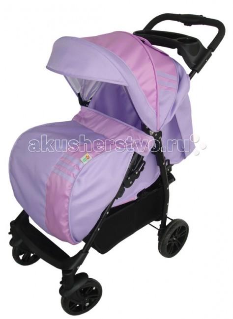Прогулочная коляска BabyHit AdventureAdventureПрогулочная коляска BabyHit Adventure для ребенка от 7- ми месяцев до 3-х лет станет Вашим надежным спутником во время долгих прогулок с малышом!  Отличительной особенностью коляски является забота о безопасности ребенка - система ремней безопасности, разъемный ограничительной поручень (бампер), система предотвращающая самопроизвольное сложение рамы. Рама коляски выполнена из алюминиевого сплава, который обеспечивает необходимую прочность и отличается небольшим весом.  Применение плотной такни позволило облегчить уход за коляской, а также надежно защитить ребенка от ветра и других погодных неприятностей.  Одинарные поворотные колеса существенно повышают маневренность коляски, а наличие на ручке управления столика с подставкой для бутылочки и большой багажной корзины оценят родители юного пассажира.   Особенности: 3 положения наклона спинки регулируемая подножка поворотные передние колеса с возможностью фиксации съемный ограничительный поручень столик для мамы пятиточечная система ремней безопасности Вес: 8.1 кг размер спального места 34 х 77 см.<br>