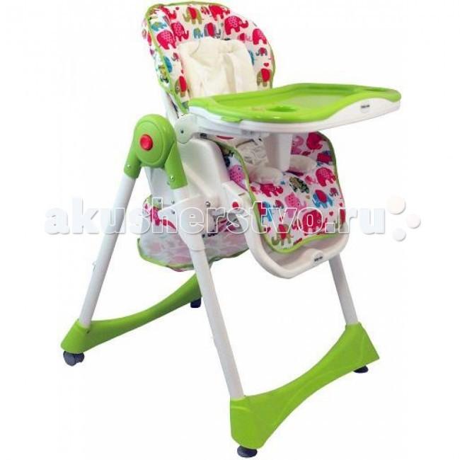 Стульчик для кормления Baby Mix YB-602AYB-602AСтульчик для кормления Baby Mix YB-602A – красивый и безопасный стульчик для удобного приема пищи. Стул для кормления от Baby Mix легко передвигать с места на место, а когда это необходимо, колесики можно зафиксировать, обеспечив таким образом устойчивость модели. Сняв столик и отрегулировав наклон спинки, стул легко использовать в качестве шезлонга для отдыха.  Особенности: яркий интересный дизайн безупречное качество исполнения надежный и устойчивый предназначен для деток с рождения комфортное, широкое, мягкое сиденье c вкладышем для новорожденных малышей обивка сидения выполнена из дышащего материала с возможностью снятия для стирки столешница стульчика состоит из двух частей, верхний поднос может использоваться для подачи еды и кормления, а нижняя — для кормления или игры пока мама готовит. Обе части съемные для чистки столешница регулируется в 2-х положениях, чтобы обеспечить наиболее удобные позиции ребенка во время кормления стульчик регулируется в 7-и положениях по высоте 3 положения наклона спинки стульчика (до полулежачего положения) 5-ти точечный ремень безопасности дополнительная защита — фиксатор между ножек подставка для ножек регулируется 2 колеса с блокировкой движения корзина для хранения вещей легкая чистка с помощью влажной губки предназначен для детей в возрасте 6-36 месяцев (0-16 кг)  Размер стульчика:  размер сиденья 23x30 см  высота спинки 43 см  размер корзины 34x25 см размер столика 50x30 см  размер опоры для ножек 36x23 см диаметр колеса: около 5 см вес: 10 кг<br>