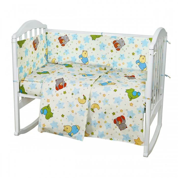 Комплект в кроватку Baby Nice (ОТК) Звездопад (6 предметов)