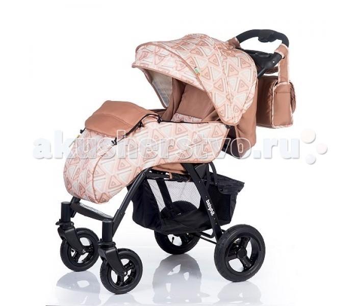 Прогулочная коляска BabyHit Travel AirTravel AirПрогулочная коляска BabyHit Travel Air стильная и функциональная модель порадует яркими, интересными расцветками и станет незаменимой спутницей при повседневных прогулках с малышом.  Особенности модели Babyhit Travel Air: Всесезонная прогулочная коляска Надувные колеса Передние одинарные поворотные колеса Складывание одной рукой Капюшон «батискаф» Регулируемая до положения «лежа» спинка Регулируемая подножка Съемный поручень с паховым ремнем Столик с подстаканниками на ручке Вместительная багажная корзина Амортизация на всех колесах 5-ти точечная система ремней безопасности В комплекте: полог, сумка, муфты для рук, матрасик, дождевик, москитная сетка.  Габариты и вес: Размеры в разложенном виде (ДхШхВ): 103 х 57 х 108 см Размеры в сложенном виде (ДхШхВ): 100 х 57 х 34 см Размер спального места (ДхШ): 89 х 34 см Ширина сиденья: 34 см Длина сиденья: 25 см Высота спинки: 44 см Высота до ручки: 107 см Диаметр колес: 19.5 см / 26 см Масса: 14.5 кг<br>