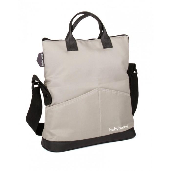 Babyhome Сумка для принадлежностей TrendСумка для принадлежностей TrendМодная сумка Babyhome Trend Bag - это аксессуар для коляски Babyhome Emotion, которая сочетает в себе стиль и функциональность.  Легко и удобно носить с собой, она имеет несколько карманов как внутри, так и снаружи, что очень удобно для использования.  Если у вас не много вещей, ее можно сложить вдвое, сумка приобретаем компактный размер ее можно носить в руках, на плече и крепить на коляску.  В комплекте пеленальная подстилка.  Материал: высококачественные, экологически чистые, безопасные материалы; при необходимости легко чистится и моется.  Размер в разложенном состоянии 60х35 см<br>