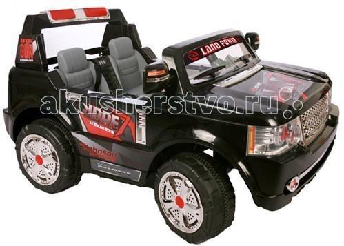 Электромобиль Bambini Travel CarTravel CarЭлектромобиль Travel Car приведет любого ребенка в восторг. Имея уменьшенную копию автомобиля, ребенок сможет почувствовать себя настоящим водителем.   Двухместный джип для детей от 3 до 8 лет Машина укомплектована 2 аккумуляторами и 2 двигателями 2 посадочных места Аккумулятора 2х12V/7AH Время работы 1 заряда батареи примерно 130 минут Максимальная скорость 8 км/ч Редуктор задней-передней скорости Радиопульт управления: вперед, назад, вправо, влево на расстоянии 15-20 метров Ремни безопасности Звуковые и световые эффекты Сигнал, свет фар Зеркала заднего вида Максимальная нагрузка 25 кг<br>
