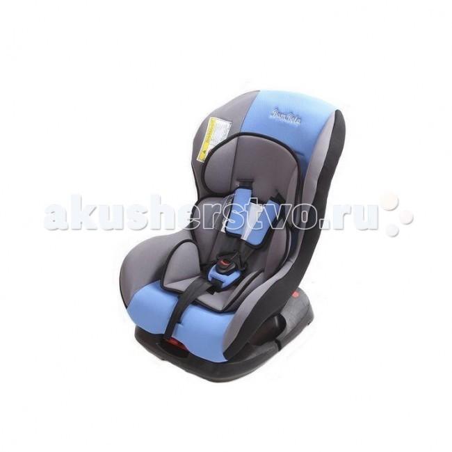 Автокресло BamBola BambinoBambinoДетское автомобильное кресло Bambolo Bambino предназначено для детей от рождения до 4 лет весом до 18 кг. Автокресло имеет ярко выраженную боковую защиту и надежную систему крепления внутренних пятиточечных ремней, что обеспечивает безопасность ребенка при резких поворотах и боковых ударах. Внутренние пятиточечные ремни регулируюся по высоте в зависимости от роста ребенка. Благодаря ортопедической форме спинки и регулировки наклона автокресла, мягкому вкладышу и накладкам внутренних ремней безопасности ребенку удобно и комфортно в поездке.  Преимущества модели в области удобства: мягкий вкладыш и накладки внутренних ремней обеспечивают максимальный комфорт ребенка укрепленная анатомическая спинка для удобства ребенка регулировка внутренних ремней по высоте в зависимости от роста ребенка двухпозиционная регулировка центральной лямки позволяет адаптировать внутренние ремни под зимнюю и летнюю одежду ребенка база для регулировки угла наклона кресла износостойкий чехол легко снимается для стирки  Преимущества модели в области безопасности: ярко выраженная боковая защита обеспечивает безопасность при резких поворотах и боковых ударах прочный каркас авоткресла изготовлен методом литья под давлением надежная система внутренних пятиточечных ремней с использованием специально разработанных ременных лент российского производства замок ремней с мягким клапаном и защитой от неправильного использования металлические направляющие предотвращают смещение кресла с базы при столкновении нетоксичный гипоаллергенный материал безопасен для ребенка соответствует правилам ЕЭК ООН № 44-04<br>