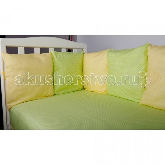 Комплекты в кроватку BamBola Мозаика 4 предмета матрас в кроватку bambola molle standart 12 119 59 12 бязь ms 12