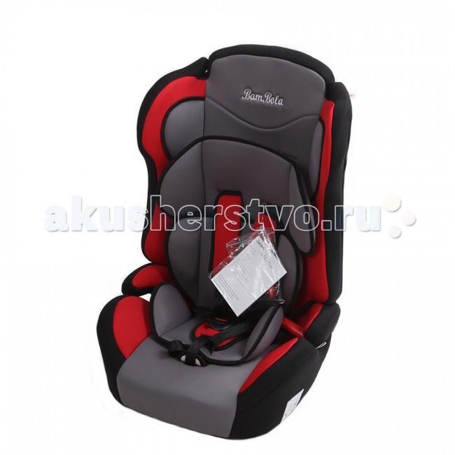 Автокресло BamBola PrimoPrimoДетское автомобильное кресло Bambolo Primo предназначено для детей от 1 года до 12 лет весом от 9 до 36 кг. Отличительным свойством автокресла является его универсальность: по мере роста ребенка, кресло легко трансформируется в бустер. Кресло имеет мягкий съемный подголовник и съемный чехол, изготовленный из гипоаллергенного материала. Для малышей от 1 года до 4 лет автокресло оборудовано внутренними пятиточечными ремнями, которые урегулируются по высоте в зависимости от роста ребенка и по глубине специально под зимнюю одежду.  Преимущества модели в области удобства: мягкий вкладыш и накладки внутренних ремней обеспечивают максимальный комфорт ребенка укрепленная анатомическая спинка для удобства ребенка регулировка внутренних ремней по высоте в зависимости от роста ребенка двухпозиционная регулировка центральной лямки позволяет адаптировать внутренние ремни под зимнюю и летнюю одежду ребенка (для кресел, изготовленных литьевым способом) износостойкий чехол легко снимается для стирки  Преимущества модели в области безопасности: особая форма спинки надежно защищает от боковых ударов прочный каркас авоткресла изготовлен экструзионно-выдувным способом или методом литья под давлением надежная система внутренних пятиточечных ремней с использованием специально разработанных ременных лент российского производства замок ремней с мягким клапаном и защитой от неправильного использования нетоксичный гипоаллергенный материал безопасен для малыша фиксатор для корректировки прохождения штатного ремня безопасности по плечу ребенка в возрасте от 6-ти лет соответствует правилам ЕЭК ООН № 44-04  Габариты кресла: 41х47х68 см Вес: 5.3 кг<br>