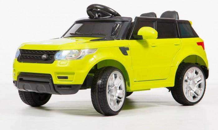 Электромобиль Barty Land Rover М999МРLand Rover М999МРЭлектромобиль Barty Land Rover М999МР создан специально для современных детей, которые привыкли к чему-то особенному и комфортному. Красивый дизайн электромобиля не может не радовать взрослых и малышей, которые уже обладают данным детским электромобилем, а также тех, кто только думает его приобрести для своего юного автомобилиста.   Детский электромобиль Land Rover М999МР полностью оправдает Ваши ожидания и Вы оцените данную модель при первом же использовании. Газ и тормоз совмещены в одной педали: при нажатии машина едет, а при отпускании, останавливается.  Особенности: Двери открываются                                              Колёса EVA (каучук) Поверхность глянец Сиденье, чехол эко-кожа                Ремни безопасности 5-ти точечные                         Зажигание кнопка Аккумулятор 6V4,5 AHх2                      Двигатели 25Wх2 Пульт управления Bluetooth (2.4 G) USB вход, MP3, вход для карты SD Амортизаторы на четыре колеса<br>