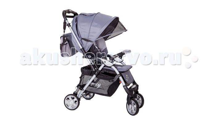 Прогулочная коляска Barty LT-E126FLT-E126FПрогулочная коляска Barty LT-E126F - современная функциональная коляска Отличный выбор как для поездки на отдых, так и для регулярных прогулок по городу. Коляска обладает блестящими ходовыми качествами. На задних колесах установлены два пружинных амортизатора и надежный стояночный тормоз. Передние поворотные колеса можно при желании фиксировать.  Жесткая спинка со встроенным матрасом раскладывается до горизонтального положения. Есть возможность удлинить спальное место за счет регулируемой подножки. Большой капюшон с окошком для мамы может опускается до бампера, обеспечивая защиту от яркого солнца и осадков.  Коляска быстро и компактно складывается. Кроме этого, родителей, конечно, обрадует вместительная сумка для вещей.  Особенности: легкая алюминиевая рама капюшон с окошком может опускаться до бампера съемный бампер с мягкой обивкой спинка может раскладываться до горизонтального положения регулируемая по высоте подножка 5-точечные ремни безопасности передние колеса плавающие с возможностью фиксации стояночный тормоз и пружинные амортизаторы на задних колесах вместительная корзина для вещей коляска компактно складывается, есть плечевой ремень для переноски.<br>