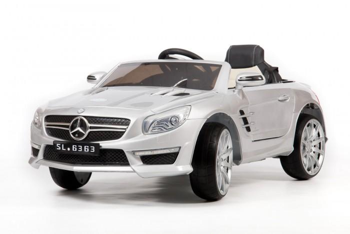Электромобиль Barty Mercedes SL63Mercedes SL63Электромобиль Barty Mercedes SL63 – интересная модель для занимательного и веселого катания!  Особенности: Возрастная группа: от 1 до 6 лет Количество моторов: два по 45W Максимальная скорость: 7 км/ч Тип колес: низкопрофильная EVA резина (вспененный каучук) Коробка передач: автомат Система зажигания: кнопка Плавный старт Открытие дверей Наличие амортизаторов Ремень безопасности поясной Задний ход, горят задние фонари LED подсветка Зеркала заднего вида Звуковые сигналы: Индикатор заряда батареи Разъем для MP3-плеера Разъем для USB Пульт родительского контроля индивидуальный, блютуз Аккумулятор 12V/7Ah<br>