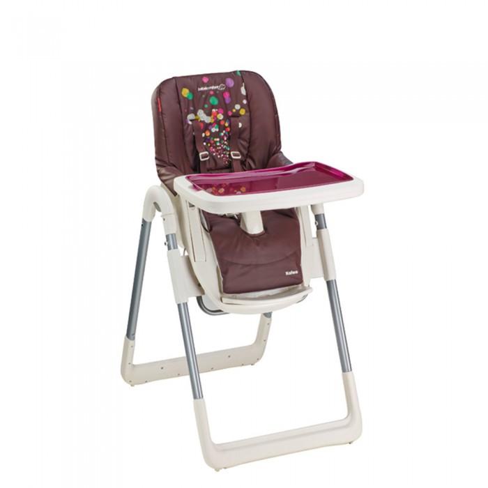 Стульчик для кормления Bebe Confort KaleoKaleoДетский стульчик для кормления Bebe Confort Kaleo создан для малышей от полугода до 3 лет. Стульчик Bebe Confort Kaleo выполнен в современном дизайне и отлично впишется в интерьер современной кухни. Надежная конструкция и широкий функционал превращает этот стульчик в незаменимого помощника.  Комфорт и удобство. Спинка регулируется по углу наклона в 5 положениях. Регулировку можно осуществить, не тревожа малыша.  Высоту сиденья тоже можно отрегулировать в 7 положениях. Высота регулируется для подгонки под высоту взрослого стола или по мере роста ребенка.  Сиденье имеет достаточную глубину для удобной посадки и широкую подножку. Материал обивки легко поддается очистке. Обивка легко снимается для полной очистки.  Bebe Confort Kaleo легок в использовании. Стульчик Kaleo имеет складную конструкцию, занимает мало места в сложенном виде. Самостоятельно стоит в сложенном состоянии.  Съемная столешница имеет двойное дно. Столешница регулируется по глубине в двух положениях. Столешница легко моется под краном. Столешницу можно снять и закрепить на задней части стульчика.  Безопасность Встроенные пятиточечные ремни с регулировкой длины и высоты 2 положения. У сиденья есть упор, который находится в паховой области для предотвращения сползания со стульчика.  Для детей до 3 лет 5 положений наклона 7 положений по высоте Съемная, двойная столешница Встроенные пятиточечные ремни Съемная обивка  Внешние размеры в собранном виде: высота 76-103 см, ширина 50 см, глубина 79 см. Внешние размеры в сложенном виде: высота 92 см, ширина 50 см, глубина 40 см. Вес: 10.1 кг.<br>