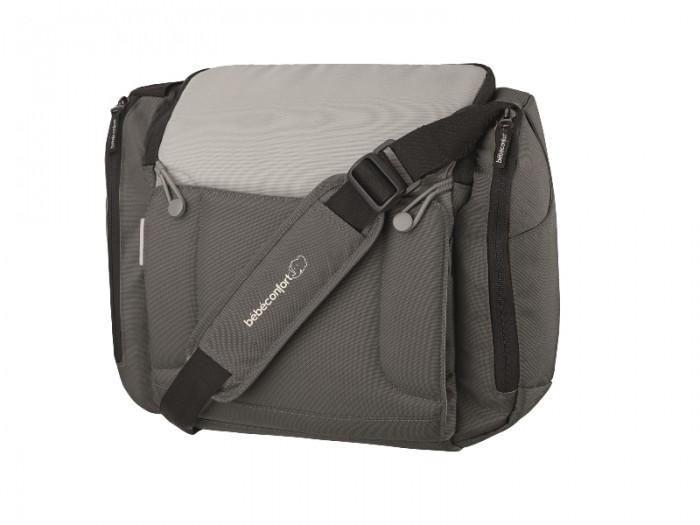 Bebe Confort Сумка Original BagСумка Original BagСумка Bebe Confort Original Bag удобная и вместительная сумка на коляску Bebe Confort.  Поставляется с ремнем безопасности, фиксирующим ребенка в кресле и пеленальным матрасиком.  Материал: полиэстр, полиуретан. Размер: 38 x 16 x 31 см. Вес: 1.3 кг.<br>