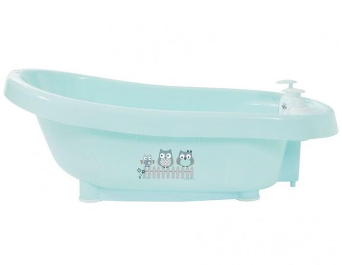 Bebe Jou Ванночка для купания 6260Ванночка для купания 6260Ванночка для купания Bebe Jou  продумана до мелочей, благодаря чему Вы сможете не отвлекаться от столь приятного занятия как купание своего крохи.   Основные особенности термо-ванночки Bebe jou: Ванночка снабжена встроенным термометром, благодаря чему нет необходимости постоянно отвлекаться и измерять температуру воды. Теперь гораздо проще поддерживать оптимальную температуру при купании малыша. Термометр служит не только для измерения температуры, он так же является частью встроенной системы слива воды. Основание термометра - это пробка, при поднятии которого начинается слив. Два встроенных диспенсера (емкости) для мыла и шампуня прочно фиксируются, позволяют иметь гигиенические средства под рукой. У ванночки гладкие широкие края, на которые Вам, дорогие родители, будет удобно облокотиться.  Ванночку можно поставить как на специальную высокую подставку (продается отдельно), так и на стол. Она имеет 4 нескользящие ножки.  Размер: длина 82 см, ширина 40 см, глубина 23-28 см. В комплекте: ванночка, термометр, 2 диспенсера, сливной шланг. К данной модели подходит только сливной шланг, который входит в комплект.  Вес с упаковкой: 2.163 кг Габариты: 41x32x84 cm Объем: 0.110 куб.м.<br>