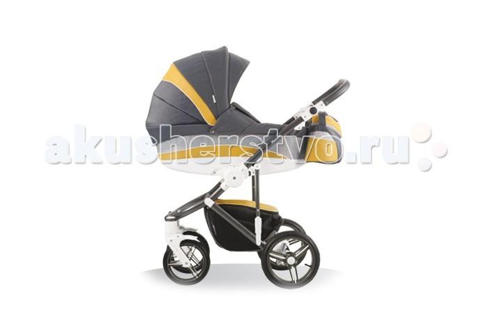 Коляска Bebetto (ARO) Murano 2 в 1Murano 2 в 1Bebetto Murano 2 в 1 - универсальная детская коляска, которая может эксплуатироваться с самого рождения малыша и до достижения им трехлетнего возраста. Люлька для новорожденного очень легко и быстро сменяется на прогулочный блок, поэтому молодым родителям не нужно тратиться на покупку отдельной коляски-прогулки.  Люлька отличается вместительностью, комфортабельностью и жестким дном, которое гарантирует правильную осанку. Как и прогулочный блок, люлька полностью адаптирована под достаточно сложный российский климат. Оба модуля превосходно утеплены, могут эксплуатироваться при сильных морозах. Отдельного внимания заслуживает повышенная проходимость модели, что немаловажно для отечественных дорог и тротуаров.  Bebetto Murano оснащена удобной ручкой для переноски и простой системой монтажа (демонтажа) модулей. Расширенная комплектация модели, позволяет обеспечить надежную защиту ребенка от ветра, дождя, снега и солнечных лучей. За повышенный комфорт также отвечает эффективная система вентиляции, служащая настоящим спасением в сильную жару.  Цвет рамы: графитовый, пластик-белый<br>