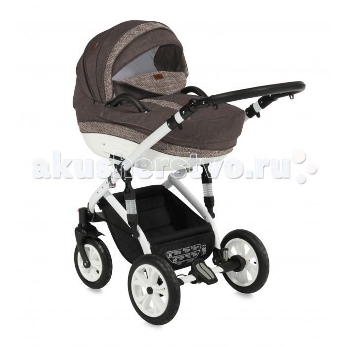 Коляска Bertoni (Lorelli) Mia 2 в 1Mia 2 в 1Коляска Bertoni (Lorelli) Mia 2 в 1 в современном дизайне, удобство в эксплуатации, многофункциональность по достоинству оценят молодые родители.  Особенности: люлька для новорожденного прогулочное сиденье с чехлом на ножки регулируемая родительская ручка съемный матрасик для новорожденных амортизация колёс дно люльки регулируется и имеет вентиляционные отверстия на крыше вентиляционное окошко и карман на молнии вместительная корзина-багажник с карманом подножка, крыша и спинка сиденья регулируются рама коляски легко и компактно складывается В комплекте: сумка для мамы с пеленальным матрасиком дождевик москитная сетка Размеры и функции: Длина 105 см Ширина 60 см Высота 126 см Наклон спинки Внутренние ремни Регулировка высоты подножки  Механизм складывания: книжка Фиксация передних колес Тормоз: ножной Материал: металл/пластик/текстиль Вес: 15 кг<br>