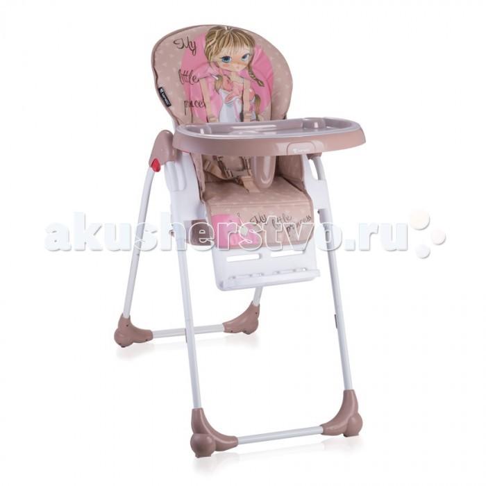 Стульчик для кормления Bertoni (Lorelli) OliverOliverСтульчик для кормления Bertoni (Lorelli) Oliver  Удобный, мягкий и безопасный детский стульчик Oliver для кормления и игр.  Особенности: Три положения наклона спинки: сидя, полусидя, полулежа Регулировка высоты сиденья - 5 положений Ремень безопасности для пояса и плеч Большой, практичный съемный столик со съемной подставкой для бутылочек Специальный паховый ограничитель, препятствующий соскальзыванию ребенка со стула Укомплектован дополнительным съемным столиком Колеса для удобного перемещения стула Хорошо моющаяся съемная тканевая часть Легко складывается путем одновременного нажатия на 2 кнопки Яркая расцветка ткани, благотворно влияющая на психоэмоциональное состояние ребенка Размеры в разложенном состоянии 85 х 65 х 50 см Стульчик для кормления Bertoni Oliver изготовлен в соответствии с Европейским стандартом безопасности BS EN 14988 (высокие детские стулья), обеспечивая максимальную безопасность и комфорт для вашего ребенка.<br>