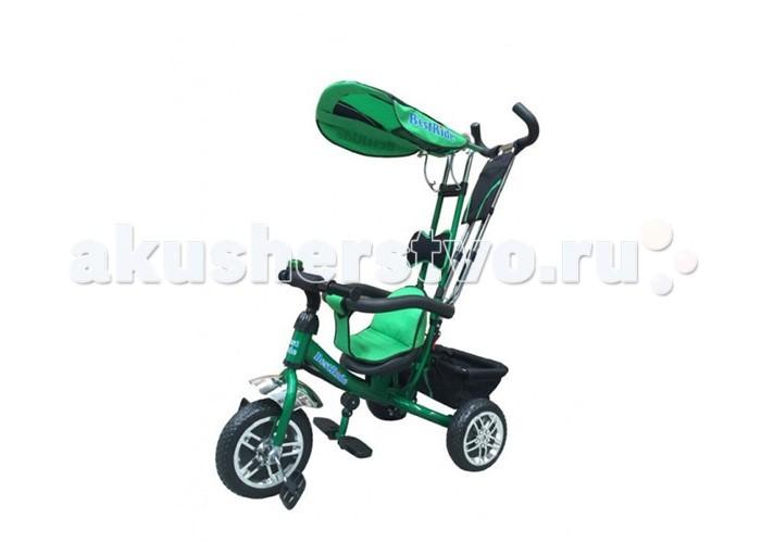 Велосипед трехколесный Best Ride BR-950BR-950Велосипед двухколесный Best Ride BR-950 доставит немало радости вашему ребенку на прогулке! На нем можно кататься в городских условиях и на природе. Его конструкция основательно продумана до мелочей и все учтено, чтобы ребенку было удобно и безопасно кататься на данной модели велосипеда.   Особенности: стальная облегченная рама  удобная и прочная родительская ручка (съемная)  раздвижной барьер безопасности  удобное регулируемое сиденье с мягким вкладышем  подголовник  на руле мягкая поролоновая накладка  бесшумные колеса 108 из ПВХ не требующие подкачки складная подножка (с противоскользящими насечками)  регулируемый тент защищающий от солнца и дождя  вместительная корзина из ткани для вещей и игрушек на руль звонок сумочка для мелочей на родительской ручке.<br>