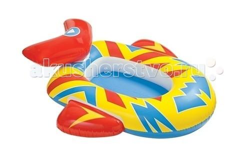 Матрасы для плавания Intex Лодка детская 59380NP матрасы для плавания intex плотик с ручками
