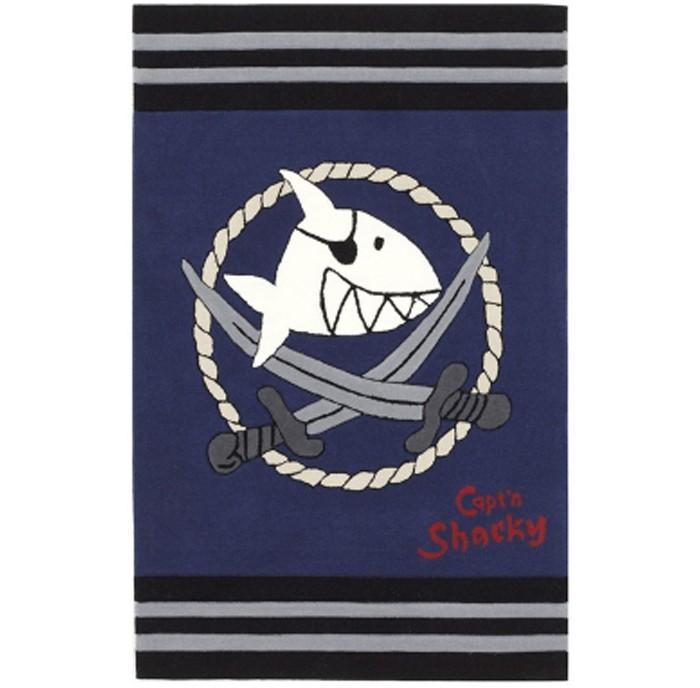 Boing Carpet Ковёр Captn Sharky 2937Ковёр Captn Sharky 2937Ковёр Captn Sharky 2937 идеально подойдет для оформления дизайна в пиратском стиле и позволит наслаждаться его мягкостью в течении длительного времени. Он непременно понравится мальчишкам, увлеченным пиратской тематикой.   Теплый, мягкий и не прихотливый в эксплуатации ковер обладает повышенной цветостойкостью. В состав волокон, используемых при производстве ковра входит Хитозан - вещество 100% натурального происхождения, обладающее антибактериальным свойством и нейтрализующее запахи.  Высота ворса составляет 10 мм.<br>
