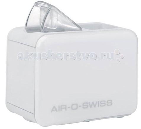 Boneco Увлажнитель воздуха AOS U7146Увлажнитель воздуха AOS U7146Мобильный увлажнитель воздуха Air-O-Swiss U7146 можно брать с собой куда угодно: на отдых, в командировку, в офис – в любой поездке он будет сопровождать Вас, поддерживая оптимальный уровень влажности воздуха, где бы Вы ни находились.  Частые перелеты и смена климата — это значительный стресс для организма человека. Как правило, оказываясь в отеле, в другом городе и другом климатическом поясе, человек несколько дней проходит акклиматизацию. Сохнет кожа, появляется головная боль, а если есть хронические заболевания, то может наступить их обострение. Маленький и яркий увлажнитель Air-O-Swiss U7146 в кратчайшие сроки создаст благоприятный микроклимат в гостиничном номере или апартаментах, насыщая воздух живительной влагой. Такой легкий и компактный, он не займет много места и не потребует особого ухода.  Возвращаясь из путешествий, мы возвращаемся и на работу, где сидим за компьютером, в окружении многочисленной офисной техники. Исследования показали, что вся оргтехника оказывает на наше самочувствие негативное влияние: ее излучения и нагревающиеся поверхности сильно сушат воздух. Как известно, сухой воздух — один из главных врагов нашего здоровья и красоты: кожа сохнет и становится тусклой, появляется першение в горле и головная боль. Air-O-Swiss U7146 можно назвать средством индивидуальной офисной защиты от сухого воздуха. Индивидуальной — потому что он настолько компактен, что умещается в ограниченном офисном пространстве на стандартном рабочем столе. Несмотря на свой небольшой размер, он эффективно увлажняет помещение, но при этом работает очень тихо (уровень шума менее 25 дБА).  Прибор работает по принципу ультразвукового увлажнения воздуха. Вода, попадая в камеру парообразования, под воздействием ультразвука расщепляется на мельчайшие брызги. Микроскопические капли образуют своеобразное облако пара, вентилятор малой мощности прогоняет наружный воздух, подавая пар в помещение, который затем равномерн
