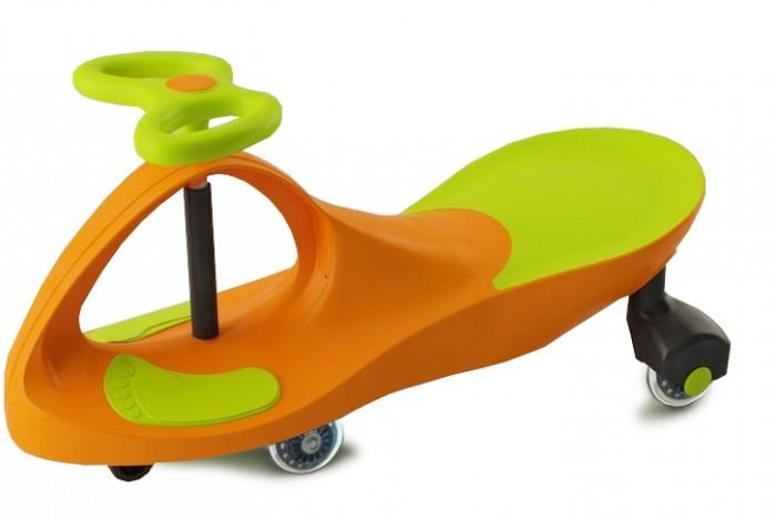 Каталка Bradex Машинка детская с полиуретановыми колесами БибикарМашинка детская с полиуретановыми колесами БибикарBradex Машинка детская с полиуретановыми колесами Бибикар - это новая модель Бибикар оснащена улучшенными колесами, выполненными из высококачественного полиуретана. Теперь езда на этой удивительной машинке стала еще более бесшумной. Легко скользит по практически любой поверхности. Уникальная чудо-машинка подарит Вашим детям множество часов удовольствия от вождения и игры. С самых маленьких лет Вы сможете занять Вашего малыша катанием на детской машинке. Это удивительное запатентованное изобретение не имеет аналогов. Его конструкция не требует мотора или  педалей. Выполняет функции не только детской игрушки и отличного развлечения для Вашего ребенка, но и способствует укреплению мышц с самых ранних лет, развитию координации и динамичности Вашего малыша.  Особенности: Игрушка крайне проста в управлении и подходит абсолютно для любого возраста, начиная с 3-х лет, так как выдерживает вес до 80 кг Машинка предназначена не только для езды на улице, но и дома, при этом обладая абсолютной бесшумностью Не требует батареек или подзарядки от сети Развивает скорость до 10 км в час без затрат электроэнергии Экологична в использовании Экономичность – не нужно заряжать от розетки, поэтому не расходуется электричество Бесшумность – полиуретановые колеса не издают звука даже по асфальту  Легкий в управлении. Есть задний ход Использование: Для начала усадите ребенка и следите, чтобы он сидел ровно во-первых, вы следите за осанкой, во-вторых, так лучше держат руль Установите ноги малыша на специальные подставки на дне корпуса машинки нарисованы черные ступни Далее ребенок должен слегка наклониться вперед, но не слишком низко, поскольку будет неудобно вращать руль Легкими движениями следует изменять направление руля вправо/влево, что и приводит в движение машинку Можно перемещаться не только вперед, но и назад, ведь машина Бибикар имеет задних ход. Для этого требуется пове