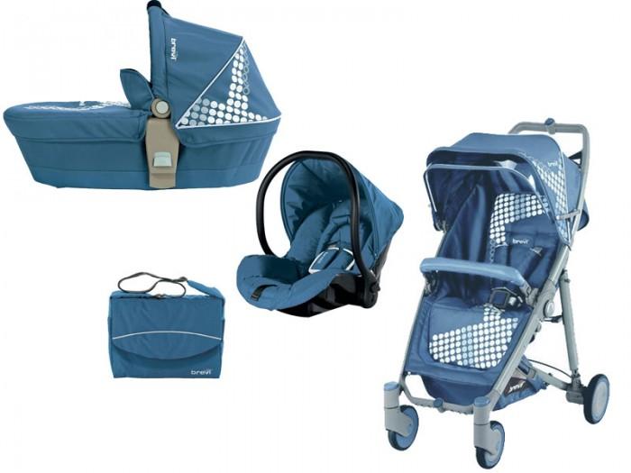 Коляска Brevi Crystal 3 в 1Crystal 3 в 1Коляска Brevi Crystal 3 в 1 прекрасная многофункциональная коляска пойдет для малыша с первых дней жизни и не оставит равнодушной ни одну маму.   Люлька может использоваться как удобная кроватка и переноска , легко крепится к раме . Съемные чехлы легко стираются в стиральной машинке при температуре 30 градусов.  В прогулочный блок установлены 5-ти точечные ремни безопасности,мягкий бампер для безопасности может сниматься , а прочная подставка для ног легко моется.  Автокресло соответствует стандартам ECE R44/04 по перевозке детей до 13 кг ( группа 0+), 5-ти точечные ремни безопасности , может использоваться как люлька и кресло-качалка, благодаря своему округлому основанию, благодаря входящим в комплект адаптерам, крепится к раме с простым нажатием кнопки. Снабжен ручкой-переноской.    Общие размеры:   с прогулочным блоком 104,5х87,5х51 см с автокреслом 104,5х87,5х51см с люлькой 104,5х87,5 см в сложенном виде 82,5х44 см.<br>