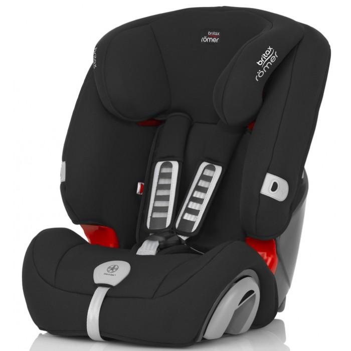 Автокресло Britax Roemer Evolva 1-2-3 PlusEvolva 1-2-3 PlusBritax Roemer Evolva 1-2-3 plus Автомобильное кресло EVOLVA 1-2-3 PLUS обеспечивает надежную защиту для ребенка весом от 9 до 36 кг. Для детей младшего возраста – с помощью 5-точечного ремня безопасности, а для более взрослых – с помощью штатного ремня безопасности автомобиля. Таким образом, благодаря универсальности этого кресла Вам не нужно менять его по мере роста ребенка.  Особенности:  Механизм крепления 5-точечного ремня Click & Safe™ со звуковой сигнализацией помогает при размещении ребенка в кресле и обеспечивает правильное натяжение ремня Регулируемые по высоте одним движением подголовник и 5-точечные ремни безопасности, боковины кресла регулируются по ширине Многопозиционный наклон спинки для максимального комфорта ребенка Глубокие мягкие боковины Простая установка с помощью штатного ремня безопасности Быстросъемный чехол, не требующий снятия ремней безопасности Выдвижная подставка для еды и напитков  Все автокресла, выпущенные с начала апреля 2017 года, на своих чехлах не будут иметь фиксаторов ремней безопасности.<br>
