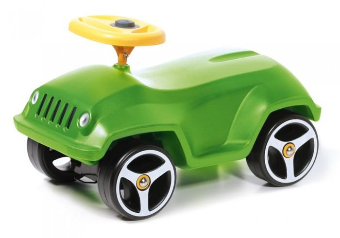 Каталка Brumee WildeeWildeeКаталка Brumee Wildee отличный транспорт для малышей, недавно научившихся ходить. Лёгкая конструкция без острых краёв и углов, большие надёжные колёса, сочные расцветки – продукция Brumee отличается высоким качеством, практичностью и удобством в использовании как для детей, так и для родителей.   Особенности: стильный автомобиль-каталка для малыша материалы: металл, пластик лёгкая, прочная и стабильная конструкция отсутствие острых углов сводит к минимуму риск случайных царапин и ушибов защита металлических деталей и устойчивость к УФ-излучению – каталка прослужит долго, сохраняя функциональность и яркий внешний вид удобный руль с клаксоном надёжные колёса на металлических осях в комплект входят наклейки дополнительно можно приобрести прицеп для каталки. Выдерживает вес до 60 кг. Колеса сделаны из высокопрочного пластика, которые не царапают и не оставляют следов на любом покрытии пола В комплект входят два варианта наклеек: фары и глазки Каждая модель оснащена пищалкой Устойчивая стабильная конструкция, не позволяющая ребенку перевернуться<br>