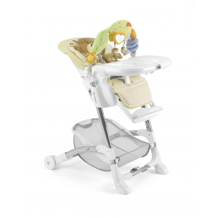 Стульчик для кормления CAM IstanteIstanteСтульчик для кормления CAM Istante   CAM Istante - это универсальный и многофункциональный стульчик до 3-х лет в котором реализованы все основные функции, так необходимые маме в повседневных заботах о малыше: регулируемая спинка сиденья с мягкой вставкой для новорожденных, где малыш может комфортно поспать, регулировка высоты, дуга с развивающими игрушками и прочная рама, рассчитанная на долголетнюю эксплуатацию. CAM Istante выполнен в 5-ти многообразных расцветках с нежными оттенками, приятными для восприятия новорожденными.   Особенности: устойчивый и прочный каркас с не скользящими накладками; комфортабельное сиденье с мягкой вставкой для новорожденных - обеспечивает высокий уровень комфорта и здоровое развитие малыша; спинка сиденья регулируется вплоть до положения для сна - здоровый сон после кормления; 5-ти точечные ремни безопасности; дополнительный ограничитель между ножек - обеспечивает дополнительную безопасность ребенка; легко моющийся столик для кормления и игр, съемный, его можно даже помыть в посудомоечной машине; красивая дуга с игрушками для развития моторных навыков малыша - при необходимости снимается; регулировка стульчик по высоте в 5-ти положениях: от самого низкого до самого высокого - позволяет подстроить стульчик практически под любой стол; задняя часть рамы снабжена колесиками с помощью которых мама легко сможет переместить его по квартире; передняя часть рамы снабжена не скользящими ножками, которые обеспечивают дополнительную безопасность - без Вашего ведома стульчик не скатится и не уедет; под сиденьем располагается большая корзина для игрушек и вещей; обивка стульчика Cam Istante съемная и ее можно стирать при температуре 30°. Размеры стульчика в собранном виде (длина х ширина х высота): 80x65x105 см. Вес: 10,5 кг.  В комплекте: стульчик для кормления Cam Istante, дуга с подвесными игрушками, корзинка для игрушек и вещей, съемный столик.<br>