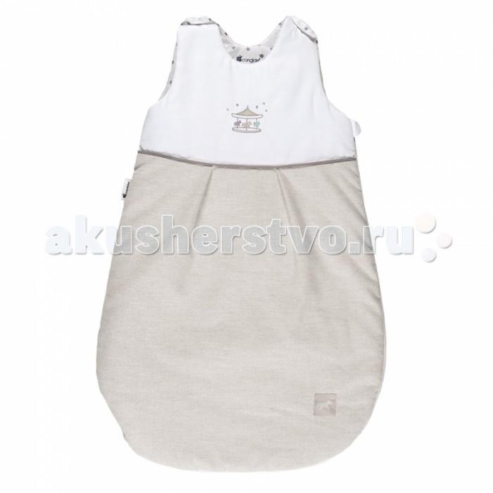 Спальный конверт Candide мешок 103950мешок 103950Спальный конверт Candide мешок 103950 идеально для детей от 0 до 6 мес., чтобы чувствовать себя комфортно и тепло на прогулке и дома.   Внутренний слой выполнен из 100 % хлопка. На плечиках кнопки.<br>