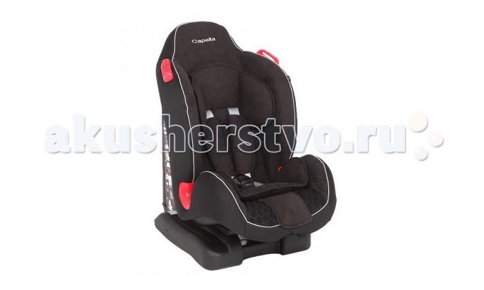 Автокресло Capella 9-25 кг9-25 кгАвтокресло Capella 9-25 кг предназначено для детей от 9 месяцев до 7 лет и весовой категории от 9 до 25 кг. Стильное, комфортное и надежное автокресло поможет создать атмосферу уюта и безопасности для малыша в продолжительных поездках. Пятиточечные ремни безопасности с мягкими плечевыми накладками надежно фиксируют малыша, не ограничивая его движения и не натирая. Боковая защита усилена.<br>