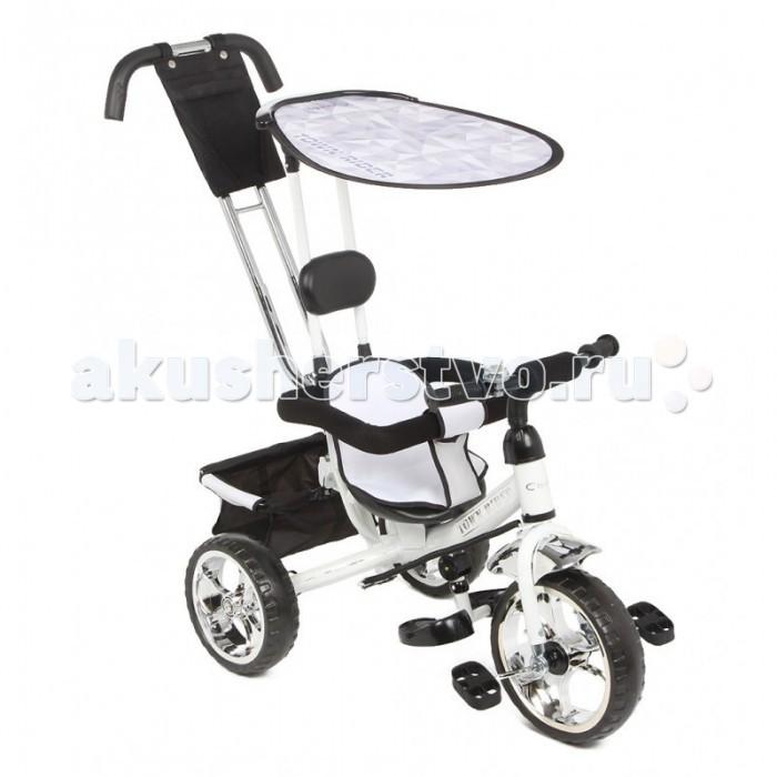 """Велосипед трехколесный Capella Town RiderTown RiderВелосипед трехколесный Capella Town Rider станет отличной заменой прогулочной коляске.  Особенности: колеса EVA сидение с вкладышем корзина для продуктов родительская ручка бампер для безопасности малыша солнцезащитный капор подножки широкие PU колеса 12"""" сумка для родителей звонок.<br>"""