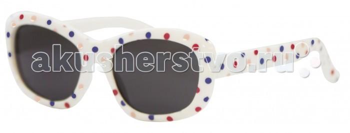 Солнцезащитные очки Caramella в разноцветный горошек caramella очки солнечные хамелеон бело розовые uv av защита