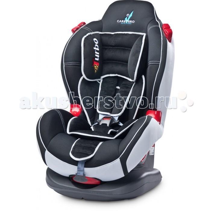 Автокресло Caretero Sport TurboSport TurboАвтокресло Caretero Sport Turbo отлично сочетает в себе динамичный стиль и безопасную конструкцию строения автокресла. Благодаря регулируемому наклону спинки ребенок не будет уставать во время поездки. За безопасность отвечают 5 точечные ремни Швейцарской фирмы Holmbergs. Мягкие ремни безопасности не раздражают нежную кожу малышей, а анатомическая конструкция кресла не сковывает движений ребенка.  Caretero Sport Turbo это именно то, что нужно вашему ребенку для безопасности во время поездки. Многое родители по достоинству оценили автокресло Sport Turbo доверив ему самое ценное - это жизнь и безопасность своего малыша. Огромная цветовая гамма позволит выбрать любимый цвет.  Особенности: Предназначено для детей весом 9-25 кг. (группа I, II) 5 положений регулировки наклонно спинки Мягкий съемный вкладыш-подголовник предназначен для детей младшего возраста; Подголовник, интегрированный в спинку сиденья, создает удобство для малышей постарше Выступающие мягкие боковые борта обеспечивают дополнительную боковую защиту ребенка Эргономичные подлокотники Легко устанавливается на сиденье автомобиля и фиксируется с помощью стационарных ремней безопасности Регулируемые 5-ти точечные ремни безопасности торговой маркой Holmbergs является дополнительной гарантией безопасности и качества  легкий и прочный каркас обеспечивает максимальную безопасность во время движения Легко снимаемая и стираемая обшивка автокресла позволит его держать чистоте. Соответствует всем европейским параметрам безопасности (Европейский сертификат безопасности ECE R44/04)<br>
