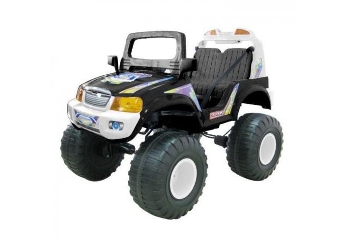 Электромобиль Chien Ti CT-885R Off-RoaderCT-885R Off-RoaderЭлектромобиль Chien Ti CT-885R Off-Roader с электроприводом.  Обладает высокой проходимостью при движении по ухабистым дорогам и преодолевает подъем до 17%. Управляя этим электромобилем, Ваш ребенок с самого раннего детства приобретет навыки уверенного вождения. Ведь это фактически настоящий автомобиль, только маленький и безопасный. Электромобиль оснащен двумя перезаряжаемыми аккумуляторными батареями по 6V/12АН.  Приблизительное время работы при полностью заряженном аккумуляторе 1,5 - 2,5 часа (зависит от нагрузки на электромобиль). Время перезарядки батареи максимум 12 часов.  Зарядное устройство в комплекте.<br>