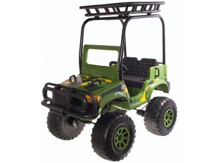 Электромобиль Chien Ti CT-888 Backyard Safari(4x4)CT-888 Backyard Safari(4x4)Электромобиль Chien Ti CT-888 Backyard Safari(4x4) - полноприводный джип для веселого сафари по дачным и пригородным дорогам. За счет 4 моторов и больших колес, Chien Ti Backyard Safari как нельзя кстати подходит для езды по грунтовым дорогам и травы. CT888 умеет преодолевать подъемы. Модель оснащена ремнем безопасности, удобным сидением на двоих и музыкальным рулем. Chien Ti CT888 Backyard Safari - большой, мощный и стильный электромобиль для юного водителя!<br>