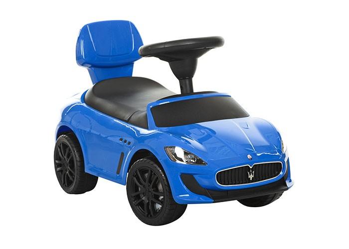 Каталка Chilok Bo Maserati GranCabrio MC MY2015Maserati GranCabrio MC MY2015Каталка Chilok Bo Maserati GranCabrio MC MY2015 предназначена для детей от 3 лет.  Особенности: изготовлена из качественного пластика с великолепной обработкой дизайн в стиле Maserati великолепная деталировка кузова музыкальные эффекты гудок-клаксон в области логотипа на руле музыкальный мультируль реалистичные передние и задние фары выглядят как настоящие хромированный логотип на решетке радиатора хромированные элементы на кузове багажное отделение для игрушек под сидушкой удобная спинка руль из матового пластика приятный на ощупь имитация лобового стекла имитация панели приборов Максимальная нагрузка: 20 кг<br>