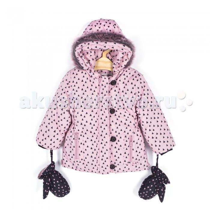 Coccodrillo Куртка для девочки Pretty RittyКуртка для девочки Pretty RittyCoccodrillo Куртка для девочки Pretty Ritty  Куртка утепленная, стеганая, капюшон с отстегивающимся мехом, на рукавах манжет-резинка, варежки на резинках, 2 кармана.  Состав: 100% полиэстер Рекомендации по уходу: автоматическая стирка при температуре до 40 С.  Coccodrillo является одним из крупнейших производителей детской и подростковой одежды по всей Европе. Компания существует с 1990 года и сегодня сотрудничает с 27 странами по всему миру. Она также входит в топ пяти наиболее популярных европейских марок детской одежды.  Изделия не вызывают аллергических реакций. В их составе &#8722; только экологически чистые волокна, которые обрабатываются с использованием высоких технологий и современного оборудования, что обеспечивает ткани высокую степень износостойкости и гарантирует долгую насыщенность цветовой гаммы, а также высокое качество печати рисунка.<br>