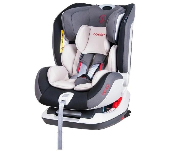 Автокресло Coletto Vento IsofixVento IsofixАвтокресло Сoletto Vento Isofix обеспечит должный уровень безопасности при перевозке Вашего малыша. Польский производитель объединил безопасность для ребенка, а также безупречный комфорт.  Особенности автокресла Coletto Vento: Кресло регулируется в 4-х положениях наклона Боковая защита представлена достаточно высокими, мягкими бортами SPS защитная система от бокового удара Чехол автокресла запросто снимается (возможна стирка) Устанавливается в различных положениях (походу и против движения) Система крепления автокресла в автомобиле – IsoFix Кресло оборудовано пятиточечными ремнями, с возможностью регулировки их по высоте Ремешки оборудованы мягкими накладками, создавая удобство для ребенка Конструкция кресла выполнена из прочного материала Подголовник автокресла можно регулировать по высоте Продукция Coletto прилагает свой Европейский сертификат соответствия: ECE R44/04  В комплекте: Вкладыш для самых маленьких Интегрированная система Isofix и Top Tether Встроенный ремень Isofix крепления и Top Tether<br>
