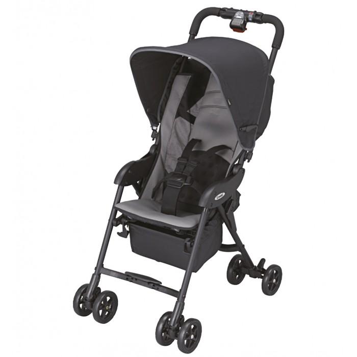 Коляска-трость Combi Quickids RZ-240Quickids RZ-240Коляска-трость Combi Quickids RZ-240 удобная и комфортная модель - подходит для детей от 6 месяцев и до 3 лет.  Данная коляска необычайно легкая - всего 4 кг, что делает ее просто незаменимой в путешествиях, особенно в перелетах.  Модель обладает удобным и просторным для Вашего малыша сиденьем. Для предотвращения выпадания крохи, спинка сиденья регулируется и может откидываться от 120 до 135 градусов. Оснащена большим капюшоном для защиты маленького пассажира от УФ - излучения и непогоды. Наличие 5-ти точечных ремней безопасности, обеспечит удерживание малыша в коляске.  Механизм складывания коляски - книжка + в трость - очень удобен, что позволяет удерживаться коляску в сложенном виде без опоры. Сложить коляску можно без особых усилий, всего одной рукой, с помощью рычага, расположенного на ручке.<br>